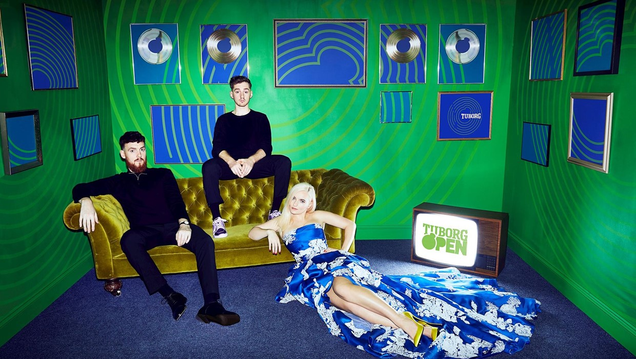 Tuborg open clean bandit